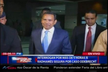La PGR Interrogan Por Más De 5 Horas A Radhamés Segura Por Caso Odebrecht
