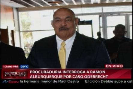 Procuraduría Interroga A Ramón Albuquerque Por Caso Odebrecht