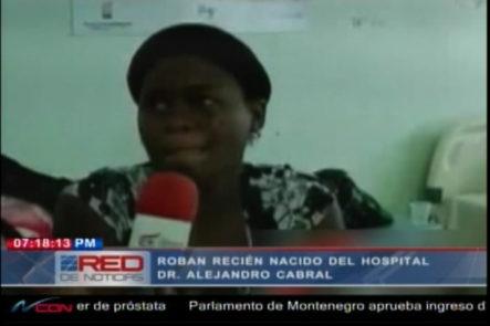 Recién Nacido Es Robajo Del Hospital Alejandro Cabral En San Juan