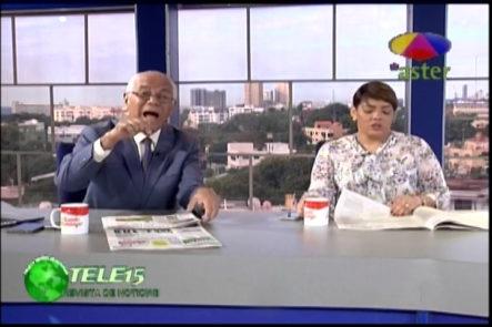 Ana Mercy Y Ramon Puello Baez Comentan Sobre La Reunión Del Procurador Y El Fiscal Federal De Brasil