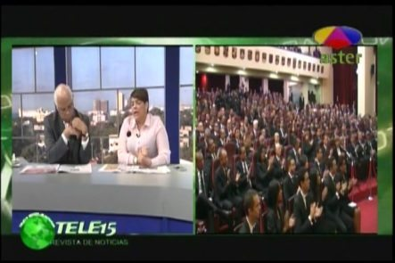 Lo Que Se Esperaba Del Discurso De Danilo Medina En La Revista Del 15