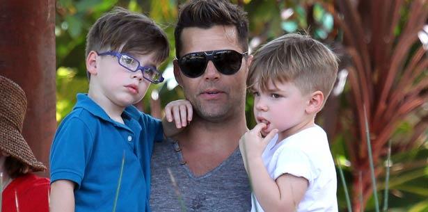 Ricky Martin goza con sus hijos Matteo y Valentino su aventura en Australia