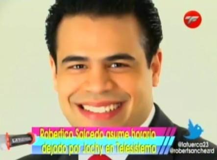 Robertico Salcedo Con El Horario Que Deja Jochy Santos En El 11 #Video