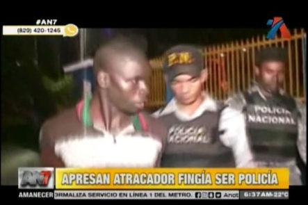 En La Romana Agentes Apresan A Un Hombre Que Fingía Ser Policía Para Asaltar