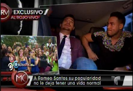 Cómo Es Un Día Con Romeo Santos? #Video