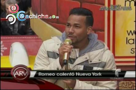 "Romeo Santos Cantó En El ""Thanksgiving Day Parade"" #Video"
