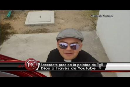 Sacerdote Colombiano se convierte en un Youtuber al predicar la palabra de Dios con una jerga callejera