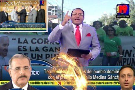 Salvador Holguín: Terminaron Los Amores Del Pueblo Dominicano Con El Presidente Danilo Medina