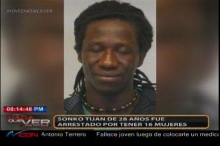 En Austria, Sonko Tijan De 28 Años Fue Arrestado Por Tener 16 Mujeres