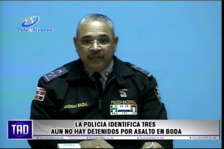 La Policía Indentifíca Tres De Los Hombre Que Asaltaron En Una Boda En Santiago #Video