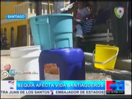Se Agudiza El Problema Del Agua En Santiago #Video