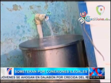 Someterán A Personas Con Conexiones Ilegales De Agua #Video