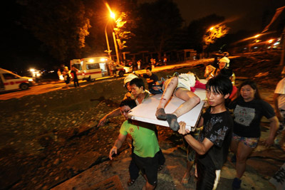 Al Menos 15 Muertos Por Una Explosión Múltiple De Gas En Taiwán