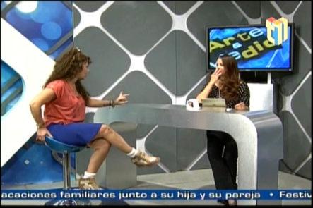 Muy entretenida la entrevista de Tatiana en Arte y Medio