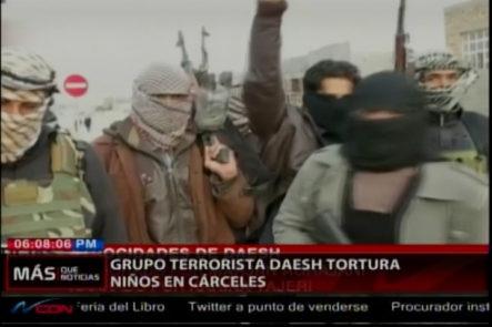 Grupo terrorista DAESH tortura niños en cárceles para luego ser reclutados