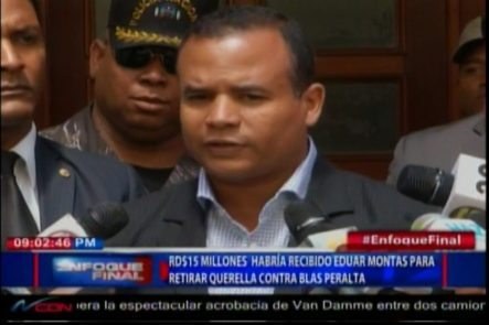 Principal Testigo De Caso Febrillet Habría Recibido RD$15MM Para Retirar Querella Contra Blas Peralta