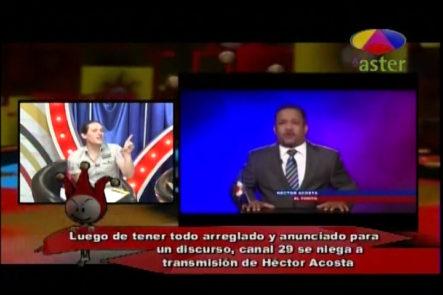 """Los Cirqueros Hablan Sobre El Discurso De Hector Acosta """"El Torito"""" Y Su Fallo De Transmisión"""