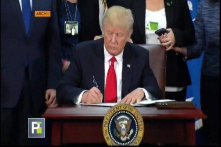 ¿De Qué Trata La Firma Para Visado De Trabajo De Donald Trump?