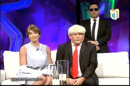 (PARODIA) Entrevista Super Exclusiva A Donald Y Melania Trump Luego De La Investidura En Chévere Nights