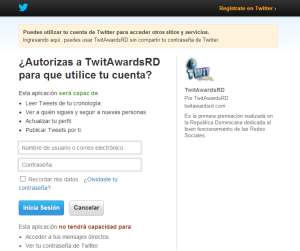 twitawardsrd2013login