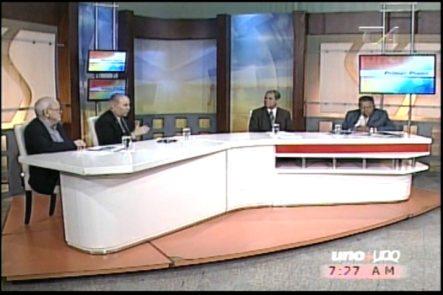Juan Bolivar Díaz Entrevista A Leo Perez Minaya Representante Del Partido Demócrata De Los Estados Unidos Y El Doctor Manuel Ortega Lic. En Ciencias Políticas
