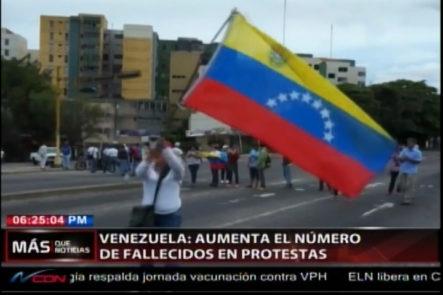 En Venezuela Aumenta El Número De Fallecidos En Las Protestas Contra El Gobierno De Maduro