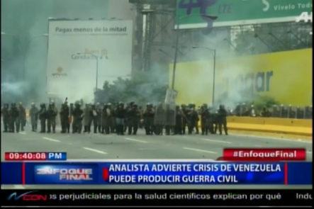 Oposición Venezolana Culpa Al Gobierno De Violencia En Marchas