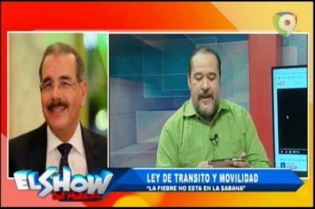 """Rafael Ventura Sin Censura: Ley De Tránsito Y Movilidad """"La Fiebre No Está En La Sabana"""""""