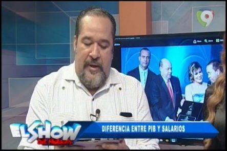 Rafael Ventura Sin Censura: La Diferencia Entre PIB Y Salarios En El Show Del Mediodía
