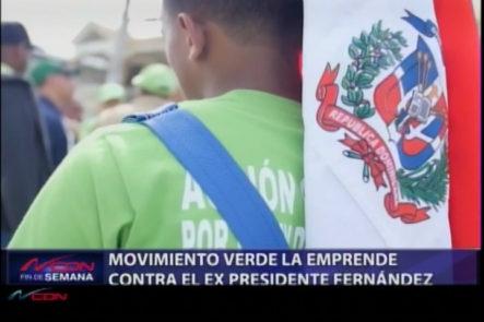 Representantes Del Movimiento Verde La Emprende Contra El Ex Presidente Fernández