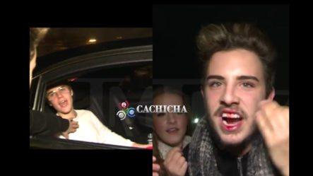 Justin Bieber Le Pegó Un Trompón A Un Fan En Barcelona Y Lo Dejó Sangrando