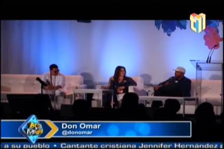 Conferencia de prensa de Daddy Yankee y Don Omar despues de los Billboard
