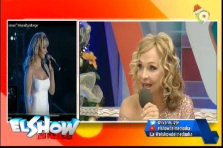 Breve Entrevista En Exclusiva A Yolandita Monge En El Show Del Mediodía