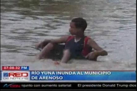 Río Yuna Inunda El Municipio De Arenoso Por Sus Crecidas