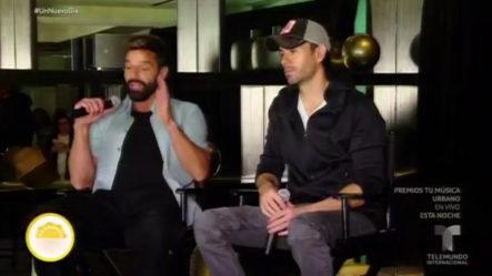 Enrique Iglesias Y Ricky Martin En Una Gira Histórica