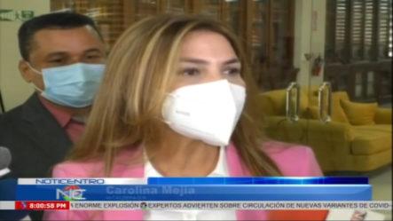 Carolina Mejia Revela Que El PRM Sometió A Militantes Por Acoso Sexual