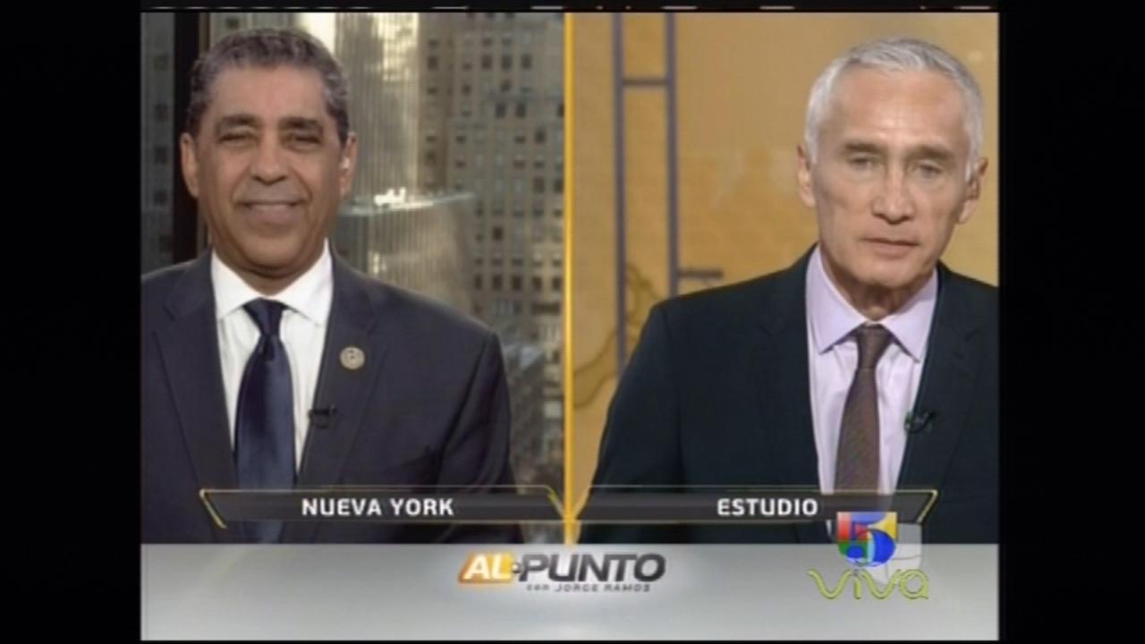 Jorge Ramos Entrevista Al Congresista De Origen Dominicano Es Nueva York Adriano Espaillat