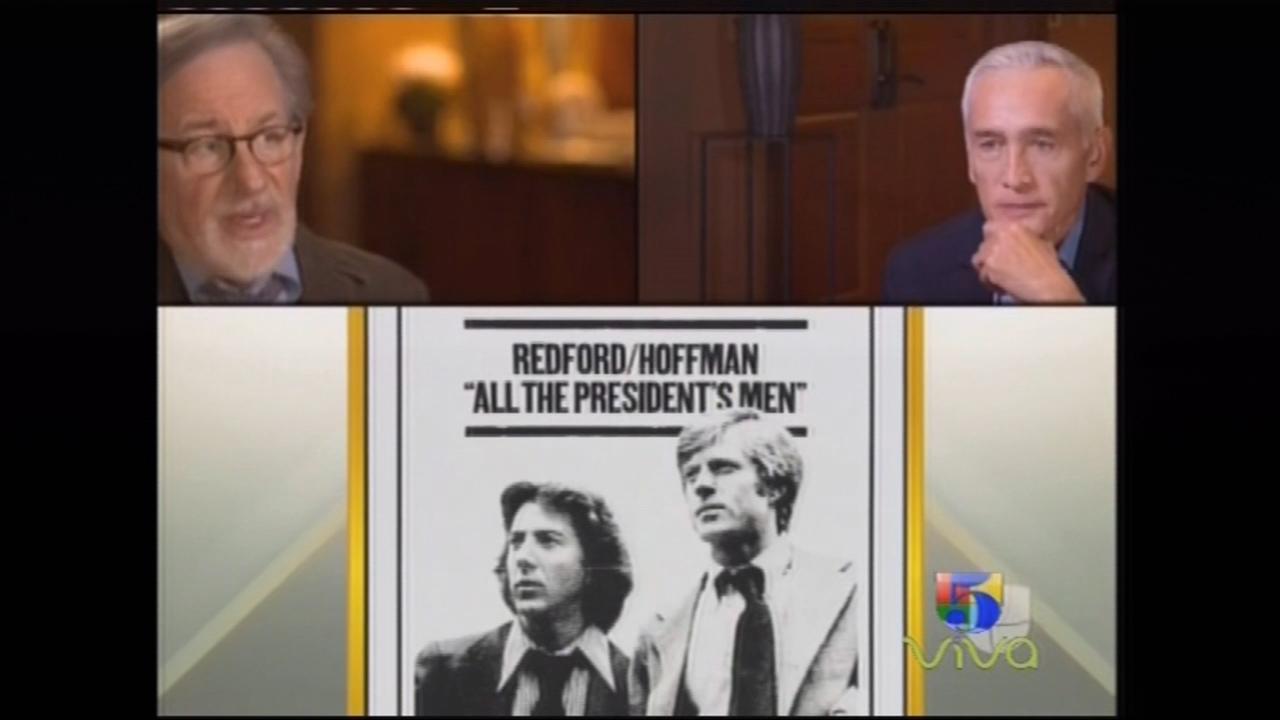 Jorge Ramos Entrevista Al Director Steven Spielberg