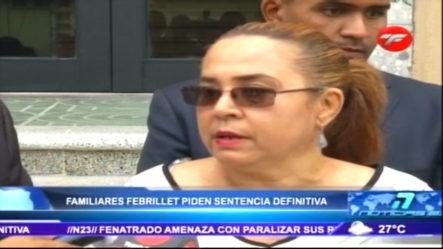 Familiares De El Director De La UASD Asesinado Por Blas Peralta, Piden Sentencia Definitiva