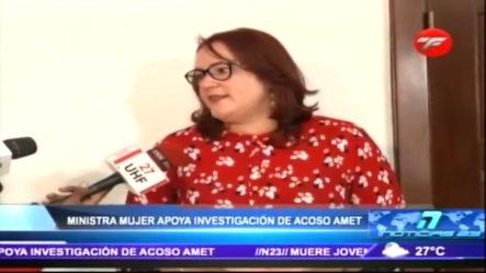 """""""Los Feminicidios Han Bajado Un 10% Con Relación Al Año Pasado"""" Según Ministra De La Mujer"""