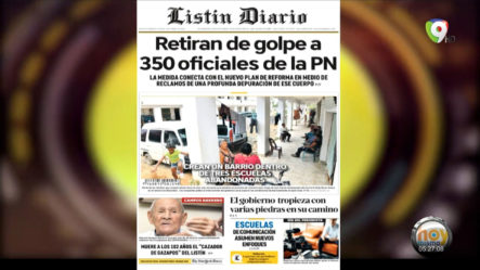Las Principales Portadas De Los Periódicos En El Día De Hoy 5 De Abril Del 2021