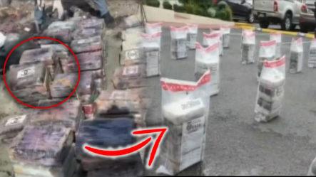 Decomisan 217 Paquetes De Cocaína De Una Embarcación Que Pretendía Entrar Al País