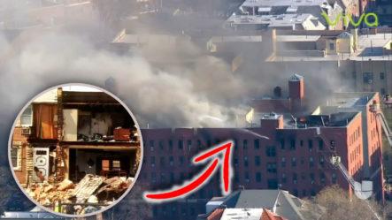 Impactantes Imágenes: Explosiones E Incendios Que Dejan Devastados A Cientos De Personas