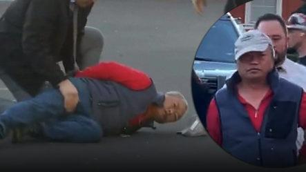 Hombre Se Tiró En Las Américas Del Puente Peatonal Después Del Darío Contreras