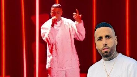 Pegado A Tu Foto; La Presentación De Nicky Jam En Los LAMAS