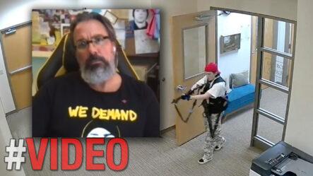 ¡ELUDÍS EL INVENCIBLE BESA A SANTIAGO MATÍAS EN PLENA ENTREVISTA!