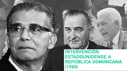 Intervención Estadounidense A República Dominicana (1965)