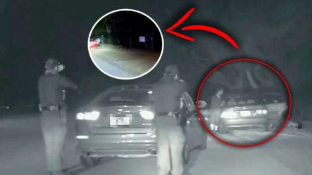 Momento En Que Policías Asesinan A Balazos A Un Hombre Frente A Su Esposa Y Su Hijo ¡Imágenes Fuertes!