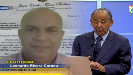 """""""Leo Llaves"""" Explica A Huchi Lora Porqué Su Empresa Figura En El Expediente De La Operación Coral"""