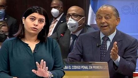Carolina Santana Y Huchi Lora Analizan Y Explican Lo Que Se Aprobó En La Cámara De Diputados Sobre Las Causales
